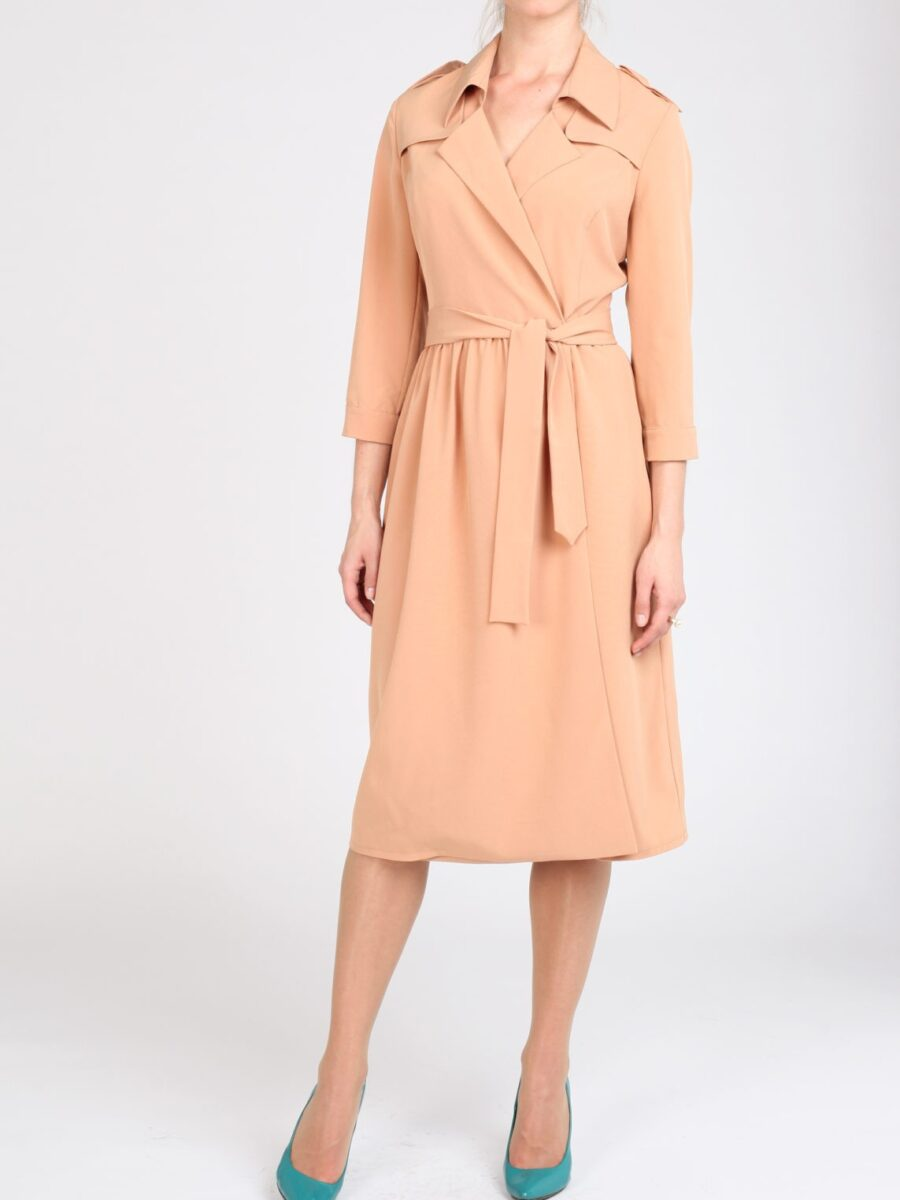Платье-тренч