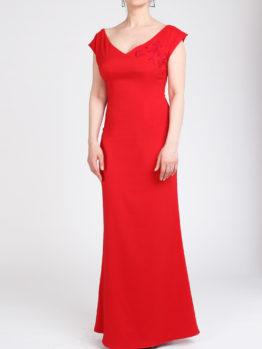 Красное платье FluffyAnn